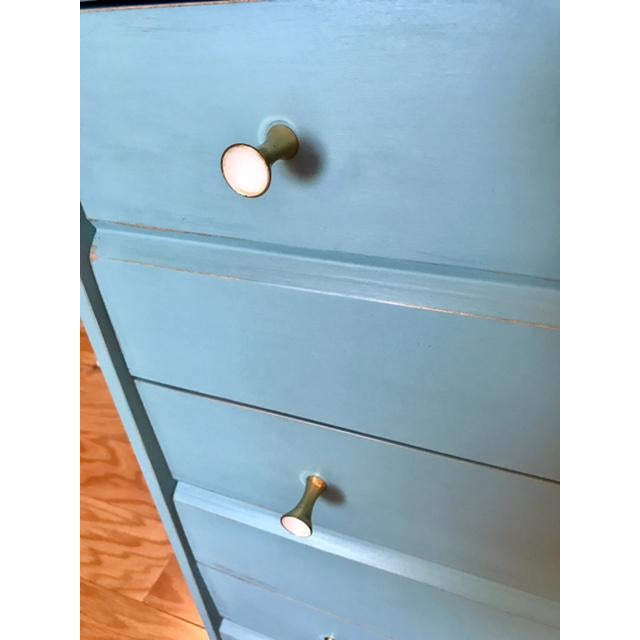Mid-Century Tallboy Dresser For Sale - Image 5 of 7
