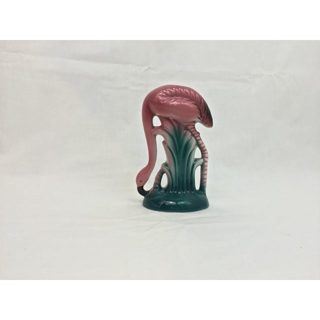 Vintage Ceramic Flamingo Flower Vase - Image 3 of 8