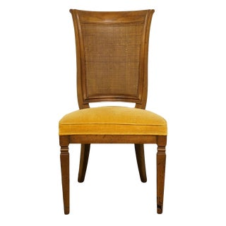 John Widdicomb Co. Grand Rapids Jacobean Style Cane Back Dining / Side Chair For Sale