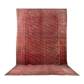 "Early 20th Century Ersari Rug - 18' 7"" X 11' 5"" For Sale"