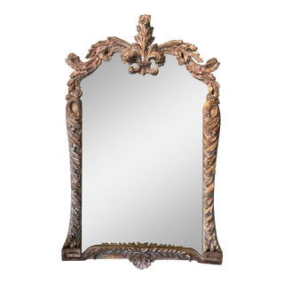 Silver Gilt Mirror For Sale