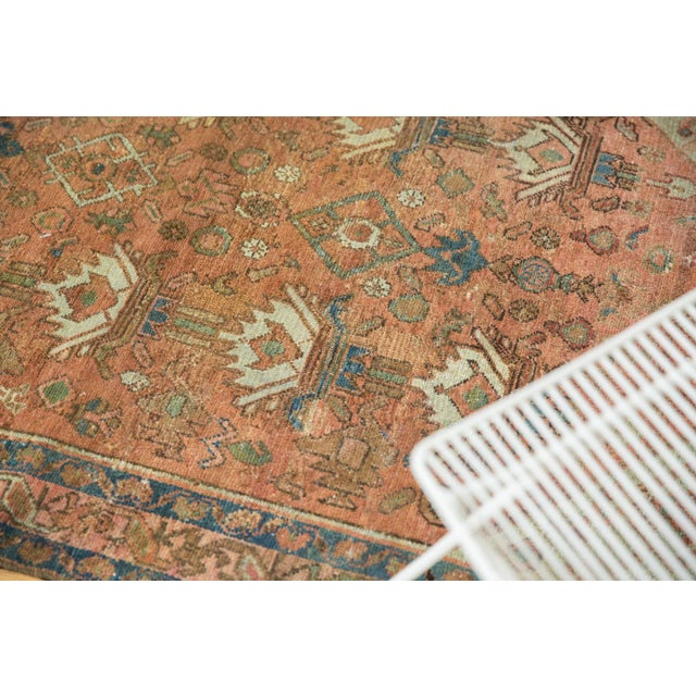 """Vintage Distressed Malayer Rug - 4' X 6'1"""" For Sale - Image 12 of 13"""