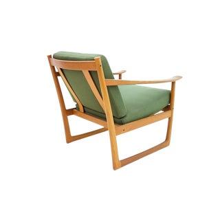 Peter Hvidt & Orla Molgaard Nielsen Teak Lounge Chair, Denmark 1961 For Sale