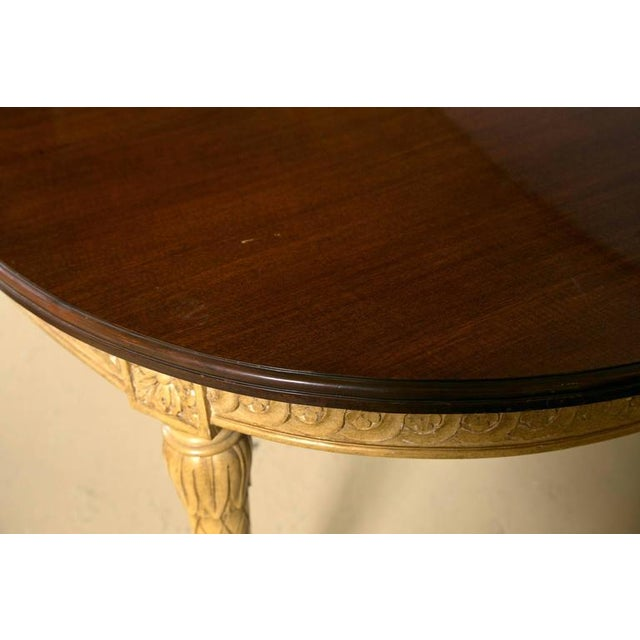 Louis XVI Style Dining Table, Manner of Jansen - Image 4 of 10