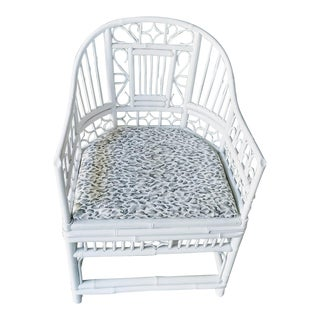 Brighton Rattan Chinoiserie Fretwork Chair