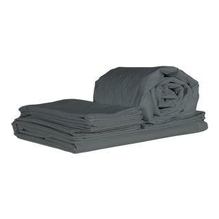Matteo Tru Coal King Sheet Set - 4 Pieces For Sale