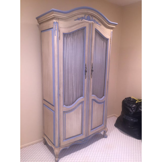 Antique Armoire With Matching End Tables - Image 6 of 6