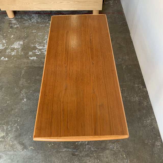Mid-Century Modern Covertible Coffee Table For Sale - Image 3 of 13