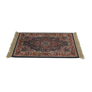 "Karastan Kashan Medallion 2'10"" X 5' Throw Rug #741 (A) For Sale"