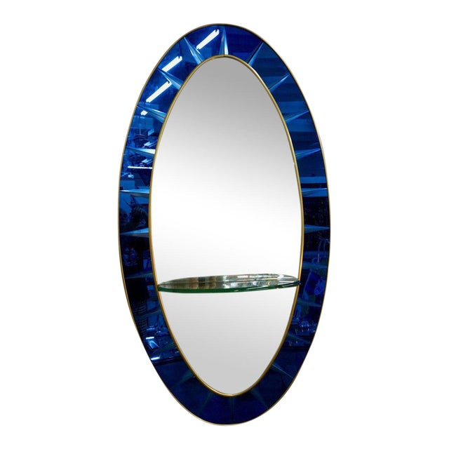 Crystal Arte Wall Mirror For Sale