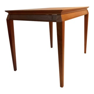 Danish Teak End Table For Sale