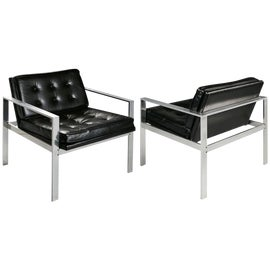 Image of Light Gray Lounge Chairs