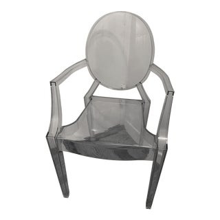 Philippe Starck Kartell Louis Ghost Chair For Sale