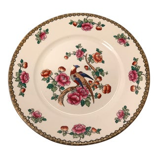 Early 1900's F. Winkle & Co. Whieldon Ware Plate For Sale