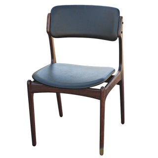 Erik Buch for o.d. Mobler Danish Rosewood Side Chair For Sale
