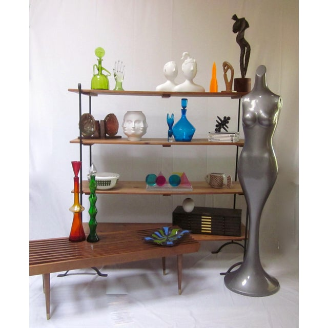 Saarinen Style Tulip-Shaped Modernist Mannequin Mermaid Fiberglass Sculpture For Sale - Image 4 of 9