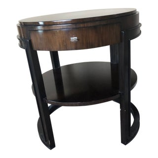 Transitional Marge Carson Side Table For Sale
