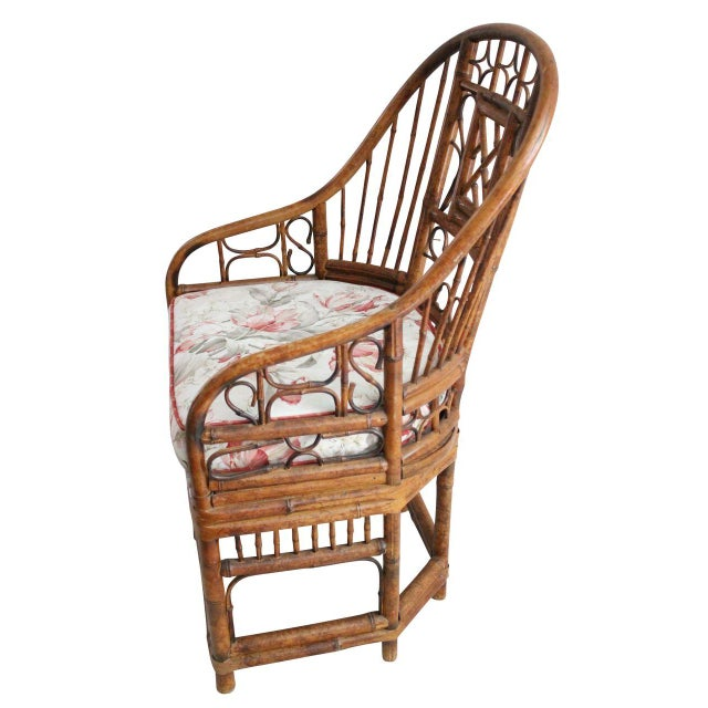 Bamboo Style Armchairs - Pair - Image 3 of 4