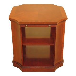 Kindel Tiered Mahogany Side Table