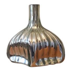Mid-Century Mercury Glass Vase For Sale
