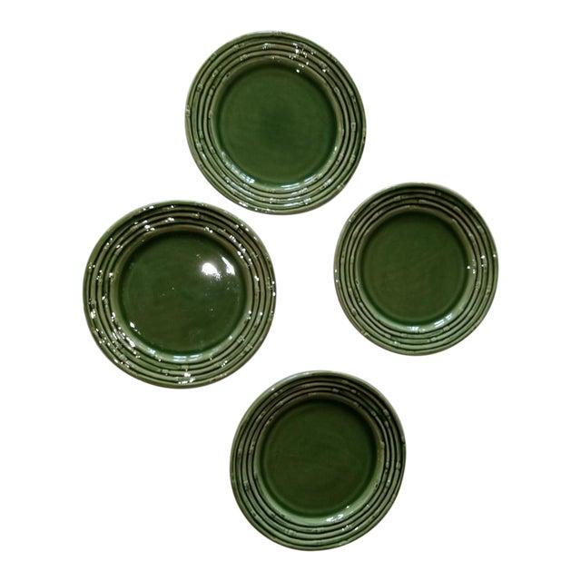 Late 20th Century Portuguese Decorative Plates - Set of 4 For Sale