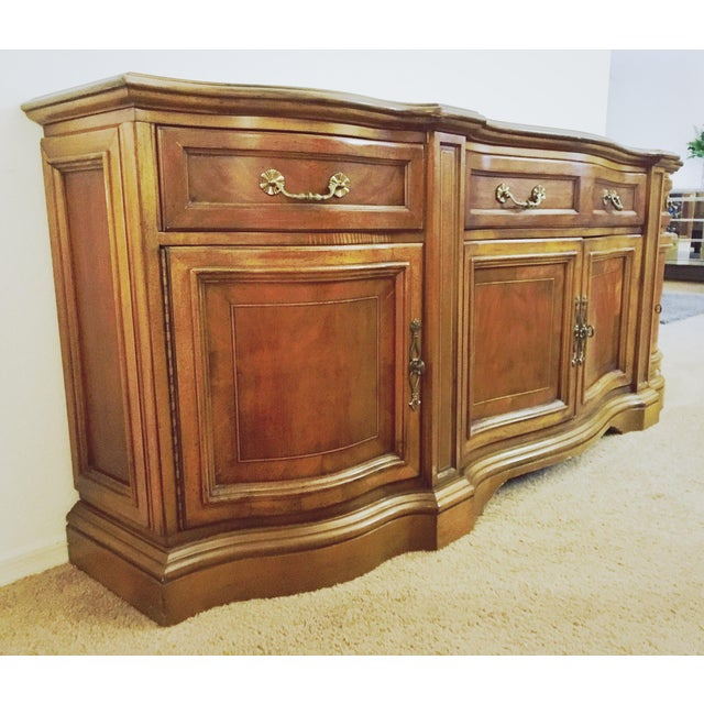 Vintage Traditional Wood Crendenza - Image 8 of 8