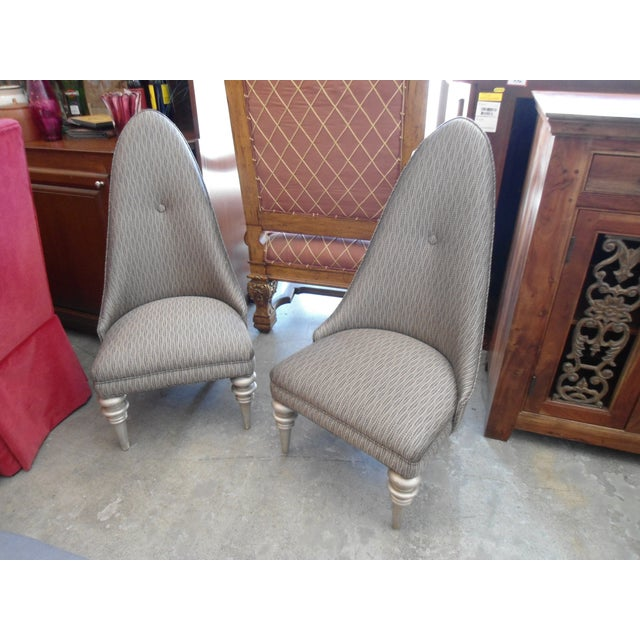 Alison K. Pollack Vintage Side Chairs - A Pair - Image 2 of 5