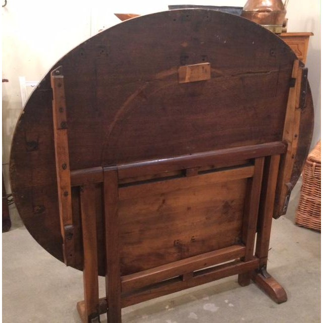 Late 19th Century Late 19th Century Antique French Wine Tasting Table For Sale - Image 5 of 9
