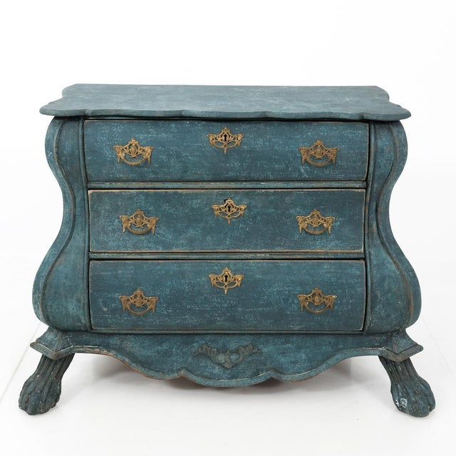 Dutch Blue Bombay Commode For Sale - Image 11 of 11