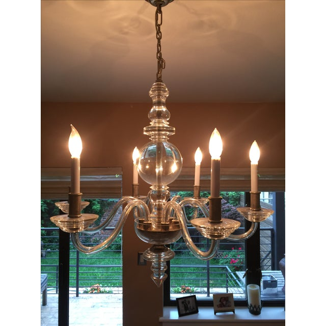 E.F. Chapman George II 6-Light Chandelier - Image 4 of 5
