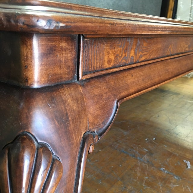 Thomasville Dining Table With 2 Leaves - Image 6 of 11