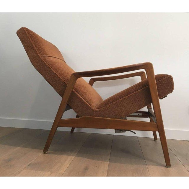 Rare Pair of Reclining Armchairs by Knoll Antimott - Image 5 of 11