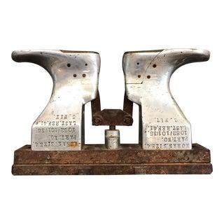 Vintage Industrial Shoe Mold For Sale