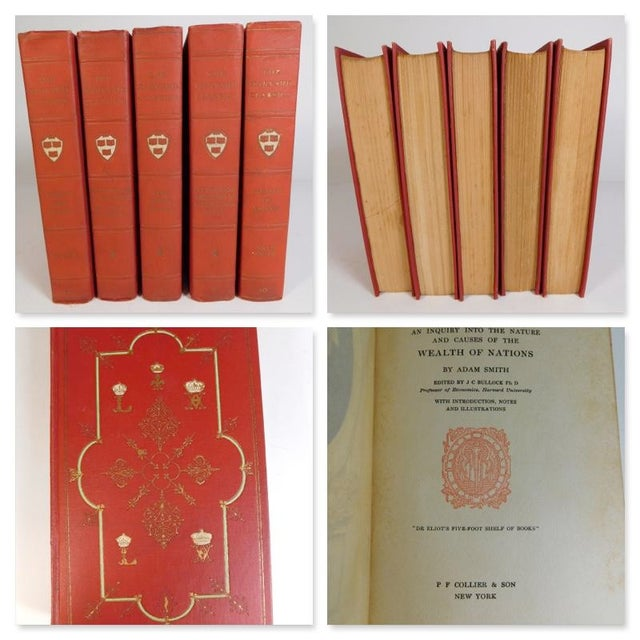 Harvard Classics Book Collection - Set of 46 - Image 3 of 11