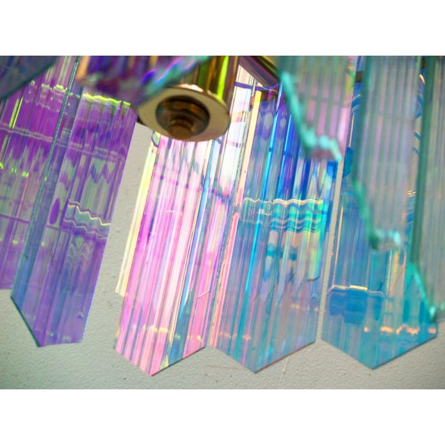 Dichroic Swag Chandelier - Image 7 of 7