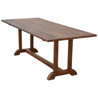 Dining Table Made From Vintage Heart Pine, Built to Order by Petersen Antiques For Sale