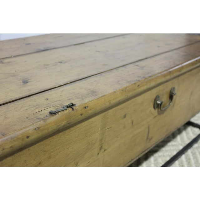 1970s 1970s French Country Trunk Coffee Table For Sale - Image 5 of 8