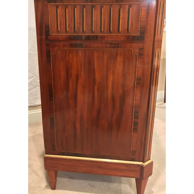 Louis XVI 1780 Louis XVI French Kingwood/Mahogany Commode For Sale - Image 3 of 8