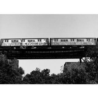 "John Conn ""Subway 24"" Westfarms Tress Black and White Limited Edition Photograph For Sale"