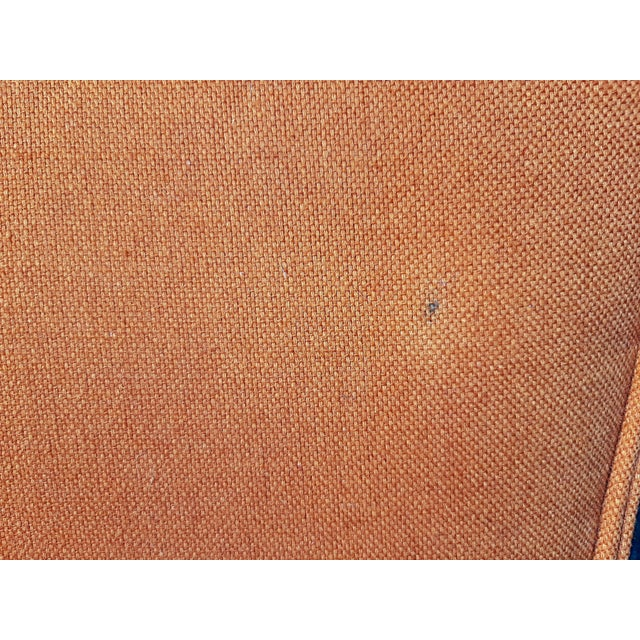 Vintage Mid Century Modern Maxwell Royal for Dunbar High Back Armchair Original Fabric For Sale - Image 11 of 13