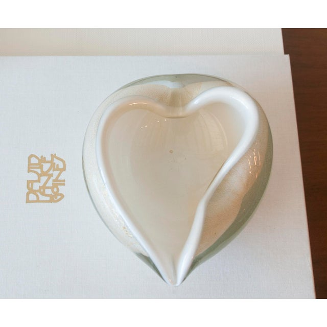 Vintage Murano Glass Heart Bowl - Image 7 of 11