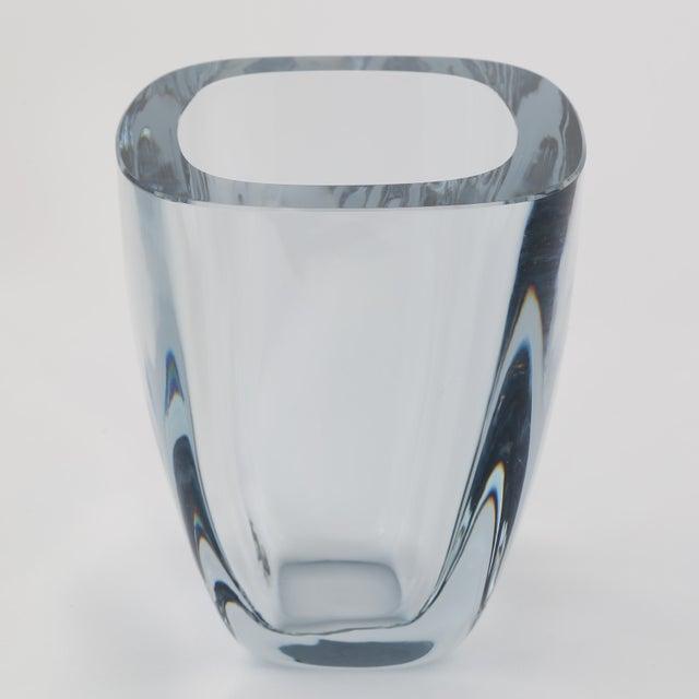 Strombergshyttan 1950's VINTAGE STROMBERGSHYTTAN GLASS VASE For Sale - Image 4 of 8