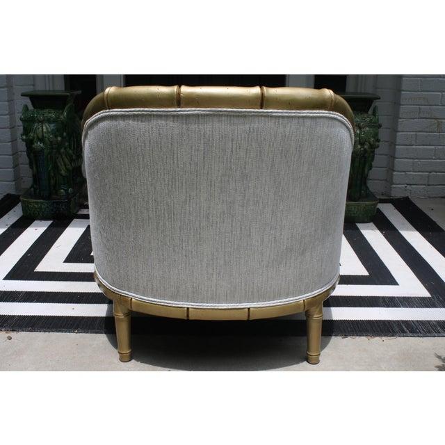Peachy Vintage Palm Beach Style Faux Bamboo Lounge Chair Camellatalisay Diy Chair Ideas Camellatalisaycom