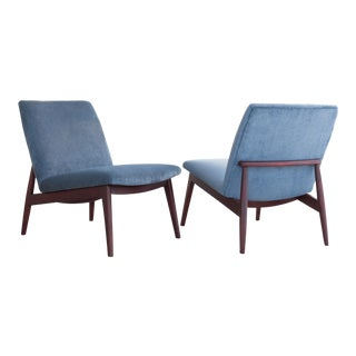 Mid Century German Side Chairs - A Pair