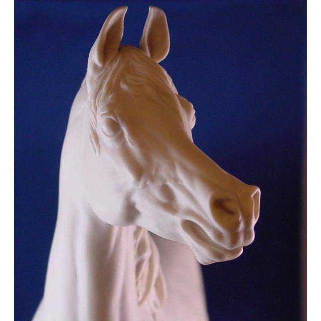 Figurative 1960s Vintage Arabian Horse Sculpture For Sale - Image 3 of 13