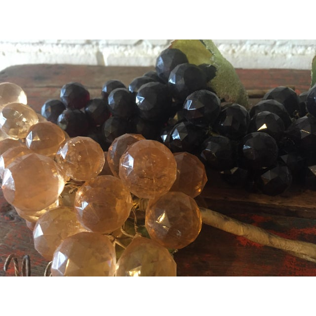Vintage Faceted Grape Clusters - Set of 3 - Image 4 of 5