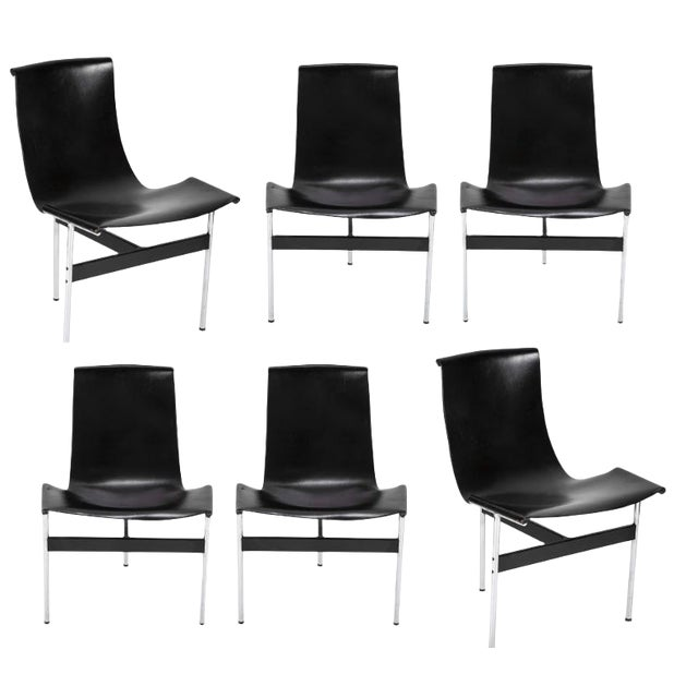 1960's Dining Chairs Designed by Katavolos & Littell & Kelley-Set of 6 For Sale
