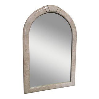 Tessellated Stone Framed Mirror For Sale