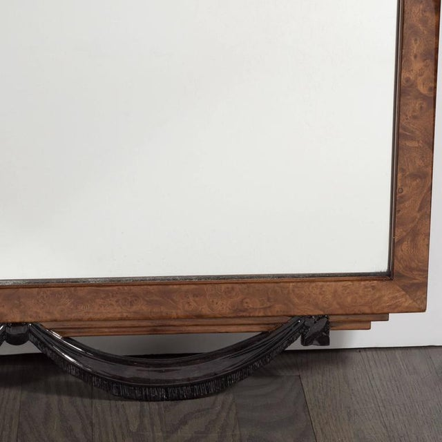 Elegant Art Deco Mirror, Circa 1935 For Sale - Image 4 of 8