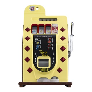 Deuces Wild 25-Cent Slot Machine by Mills For Sale